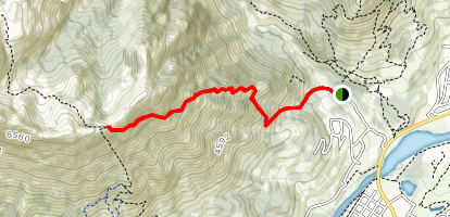 Mount Fernie Trail Map