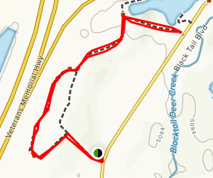 Pigtail Connector Trail Map