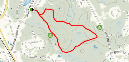 Salem Town Forest Loop Map