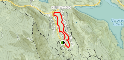 Kirkwood Meadows Loop Map