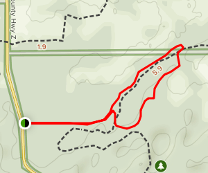 Stute Springs and Homestead Trail Map
