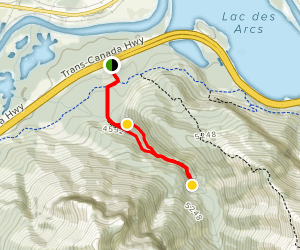 McGillvary Creek and Canyon Trail Map