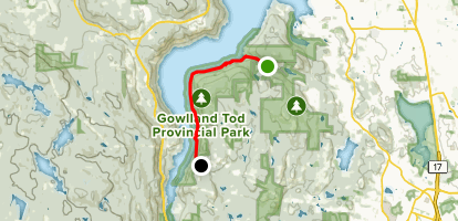 Rabbity Trail: Mt. Work to Caleb Pike [CLOSED] Map