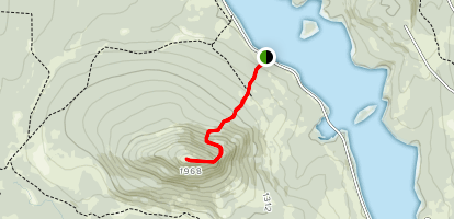 Mosquito Mountain Trail Map
