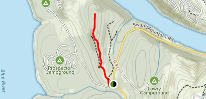 Windy Point Trail Map