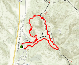 Twisted Creek, Spring Valley Creek and Whistle Pig Map