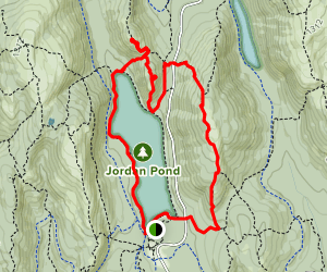North Bubble, South Bubble and Pemetic Mountain Loop Map