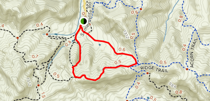 Chaparral, Ridge, and Stewartville Loop Map