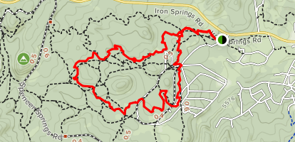 Noodle, Juniper Gate, BLM, and Sidekick Trail  Map