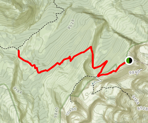 Rendezvous Mountain Trail Map