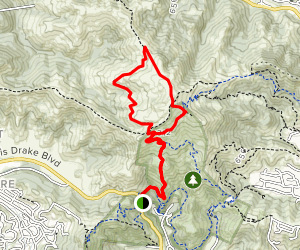 Bay Area Ridge Trail Loop  Map