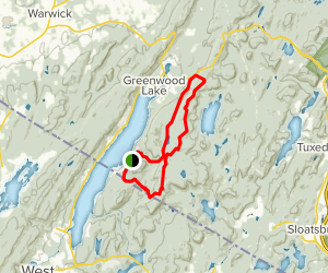 West Valley to Lake to Lake Trail Map