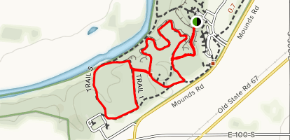 Trail 1 and 5 Loop  Map