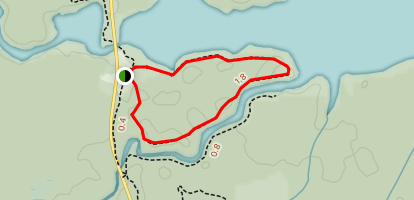 Claire Fontaine Trail Loop Map