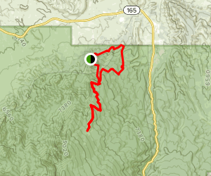 North Crest and Del Orno Loop Map