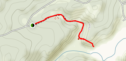 County Youth Camp Trail  Map