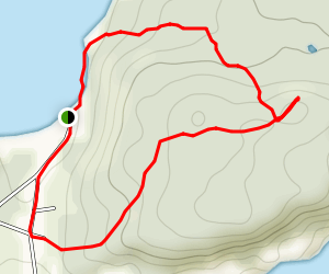 Harry's Harbour Hiking Trail Map