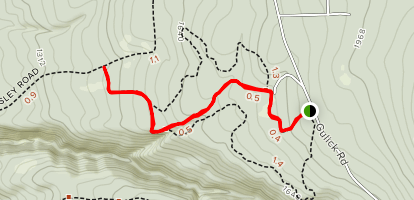 Gully Overlook Trail  Map