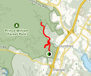 Birch Bluff and North Valley Trail  Map