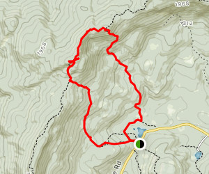 Mount Morgan and Mount Percival Trail Map