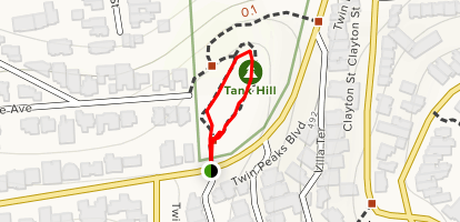 Tank Hill Park Trail Map
