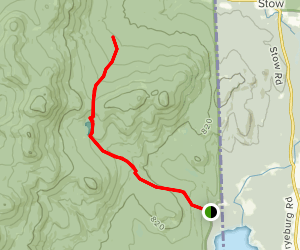 Province Brook Trail Map