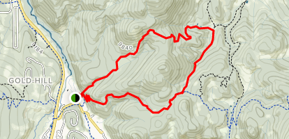 Campion and Hippo Loop Trail  Map
