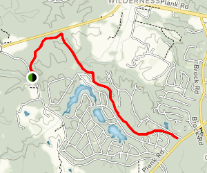 Federal Line Trail  Map