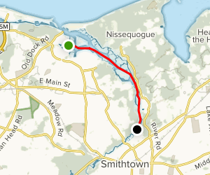 Nissequogue River Paddle Trail Map