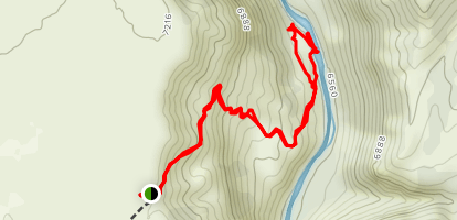 Miners Trail Map