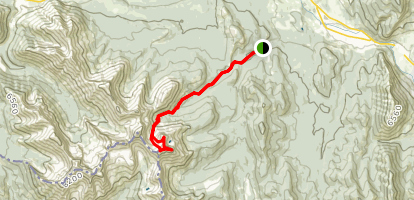 Mount Coulthard Map