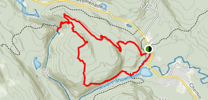 Devils Chute Loop Trail Map