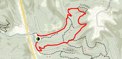 Busiek Red Trail Map