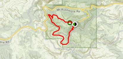 Canyons Trail Map