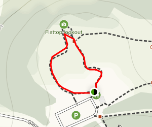 Anchorage Overlook Trail Map