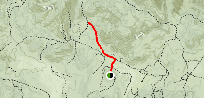 Holcomb Valley Campground + 3N's Map