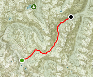 Crested Butte to Aspen via West Maroon Pass Map