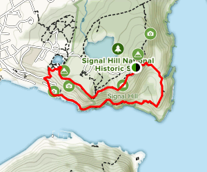 Signal Hill via North Head Trail Map
