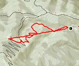 Red Lodge Mountain Map