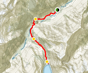 Lake of the Hanging Glacier [CLOSED] Map