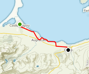Dingle Way: Castlegregory to Camp Map