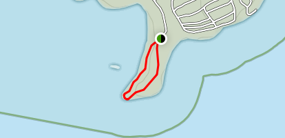 Lighthouse Point Trail Map