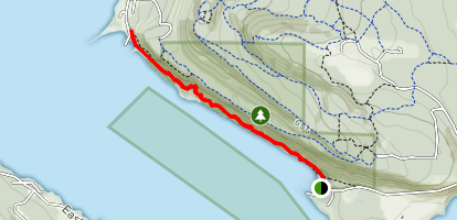 Ford Cove to Shingle Spit Trail Map