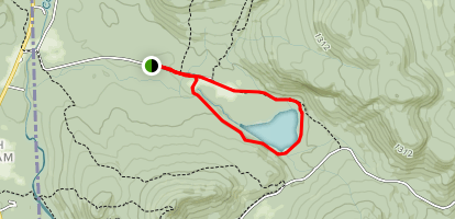 Shell Pond Loop  Map