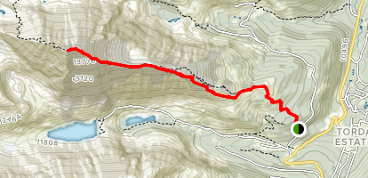 Quandary Peak Trail Map