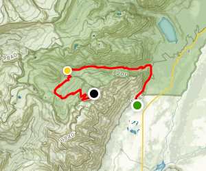 Granite Canyon to the Tram Map