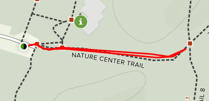 Nature Center Trail Map