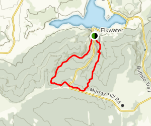 Beaver Creek and Mitchell Creek Loop Map