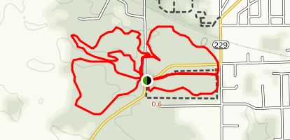 Brums Woods Trail Map