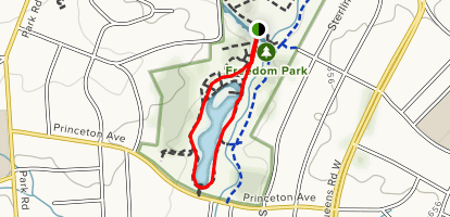 Pond Loop  Map